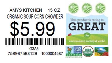 Photo: How Good Sustainability Label