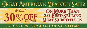Meatout Sale!